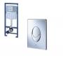 Grohe Rapid SL  falba építhető wc tartály + Skate króm vagy fehé