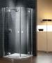 Radaway Almatea PDD nyíló ajtós zuhanykabin 80*80 króm/grafit