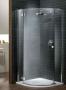 Radaway Almatea PDJ nyíló ajtós zuhanykabin 90*90 króm/üveg