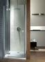Radaway Almatea DWJ nyíló ajtó fülkébe 100 króm/grafit