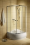 Radaway Dolphi Classic A 170 zuhanykabin 80X80 króm/üveg