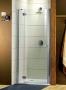 Radaway Torrenta DWJ 100 cm nyíló ajtó fülkébe króm/kockás